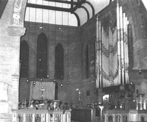 St Stephens organ circa 1966