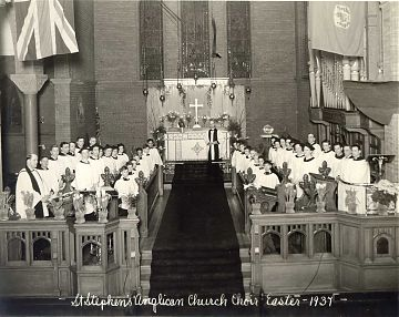 St Stephens Easter 1937