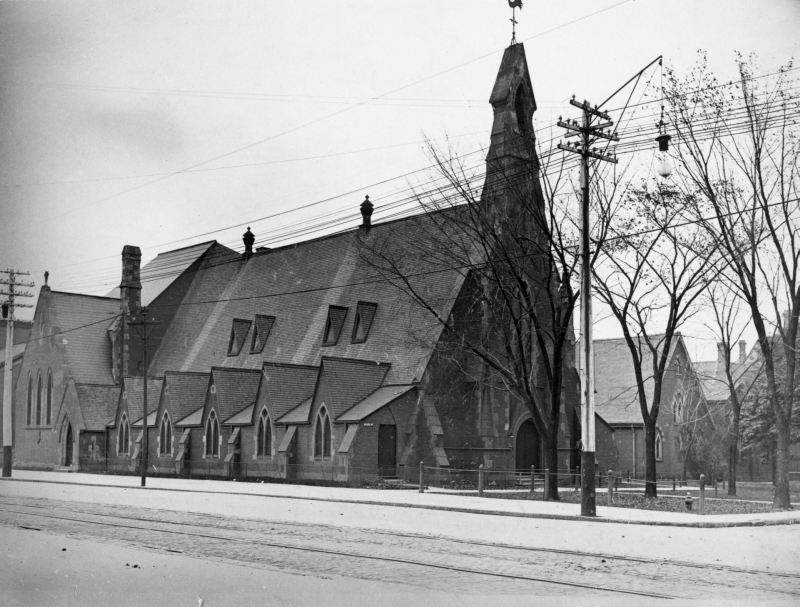 1908 view of St Stephens.