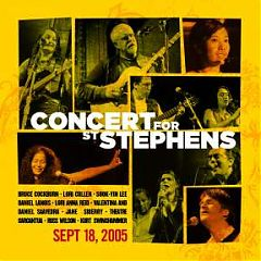 Concert for St Stephens album cover