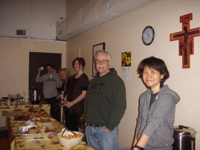 St Stephen's Sunday breakfast volunteers, 2014
