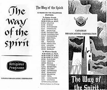 The Way of the Spirit: CBC brochure