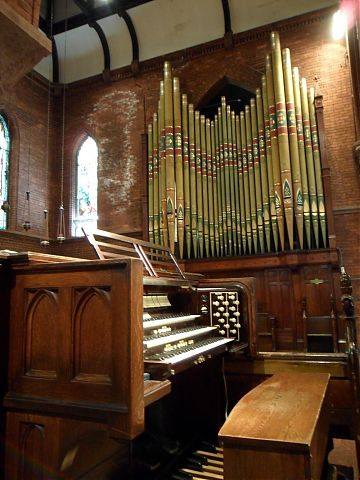 1888 George Ryder organ at St Stephen-in-the-Fields, Toronto